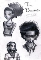 Boondocks Sketch by JustTheCleric