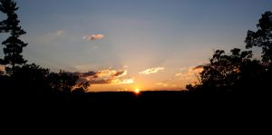 Sunset in Ithaca by 4everN3rdy