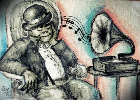Phonograph by Angie-Pot