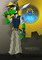 Yash McTaylis - Steampunk Mechanic by McTaylis