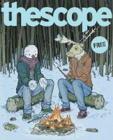 Snow Buddies - The Scope December 2011 Cover by mikefeehan