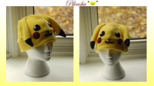 Pikachu Hat by RainbowChickenDance