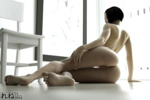 Shinhua in Octane - White Room - Low Back Shot 1 by ruhney71