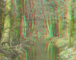 River2 3D Anaglyph by yellowishhaze