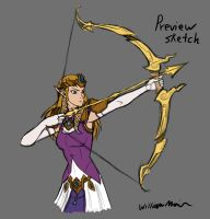 Zelda Sketch preview by WMDiscovery93