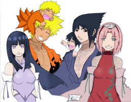 One Family Color 1 by PaoUchiuga