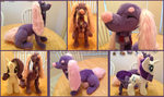 Giraffaroo Plush: Loud Lavender! by NoxxPlush