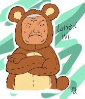 cotton hill, teddy bear. c: by heart-of-a-wolf