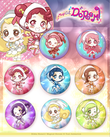Magical Doremi Buttons by RikkuHanari