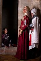 Ezio and the girls. by S-Seith