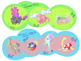 PKMNation: Clutch - Floating and Swimming[CLOSED] by KindieRoops