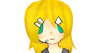 Kagamine Rin by TigerBoo99