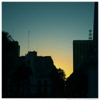 Sunset by ElkeF