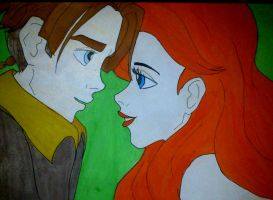 Jim x Ariel by Estelior
