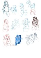 Sketchdump '5' by Crackinmychassis