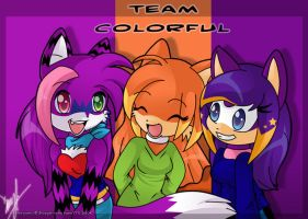 Team Colorful- AT by luna777