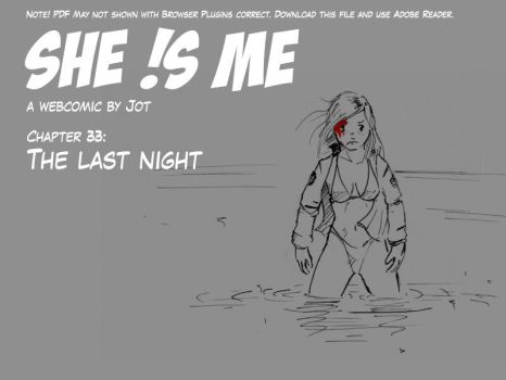 SheIsMe Final Chapter - The last night by CF-Jot