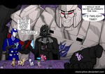 Hasbro Villains with ponies by Mono-Phos