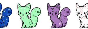 //Cat Adopts// CLOSED by TeaCrazy1837