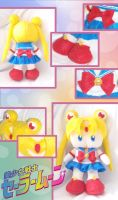 Chibi Sailor Moon Plushie by animeyume06