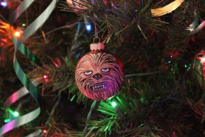 Chewbacca - Custom Christmas Tree Ornament by R1VENkassle