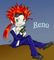 Chibi Reno :p by Screwthestars