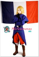 Hetalia Axis Powers France Cosplay by miccostumes