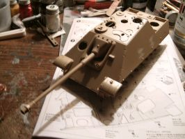 Tamiya 1/35 Jagdpanther late wip 3.1 by DelosQAndrews