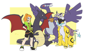 Pokemon Party by KatrinaBonebrake