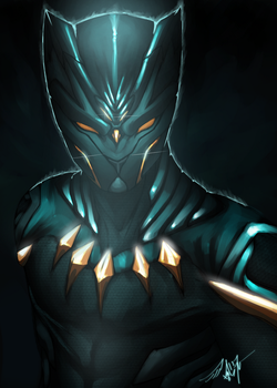 Black Panther by AMO17