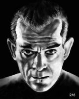 Boris Karloff by ScOttRa