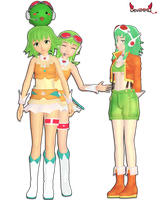 [MMD] All the Gumis~ by DevilMMD