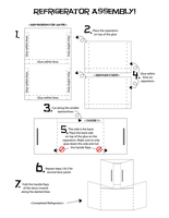 14 Refrigerator Assembly by FightTheAssimilation