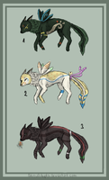 FantasyAnimalAdopts .:Closed:. by ShinuAdopts