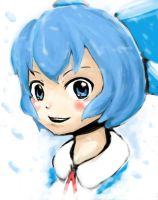 Cirno - Speed Paint 11 by Lessonguy