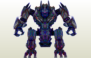 TF WOC Wii Trypticon PDO and Textures by PapercraftKing