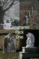 Cemeteries Pack - 1 by Seductive-Stock