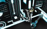 Jin in tron event 7 by olightsword