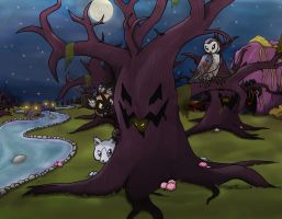 Facing the Freaky Forest by Pokettkinz
