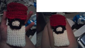 Pokeball iPod Case by Ambrosial-Wolf