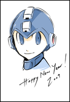 Happy New Year 2009 by Rousteinire