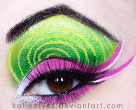 Uno!- Green Day Makeup by KatieAlves