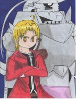 FullMetal Alchamist Elric Brothers by Ronald0912
