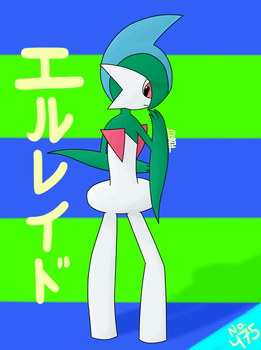 Gallade by TheMythicalGardevoir