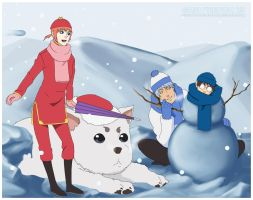 A Very Gintama Christmas 1 by chocobo-on-clay-crak