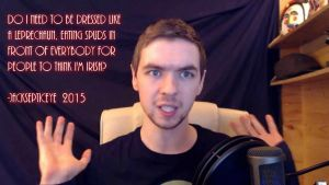 Jacksepticeye Quote - 2015 by RMS-OLYMPIC