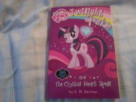 My Copy of the Crystal Heart Spell Book by BigBlackBrony