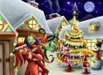 Christmas Village .:Art Jam:. by Coraleana