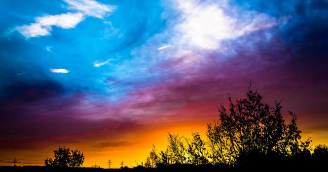 Coloroverdose above us by T-20-A-20