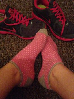 Gym Sock+trainers by mistressaura125